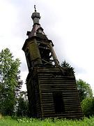 Колокольня церкви Параскевы Пятницы - Федосьино - Тосненский район - Ленинградская область