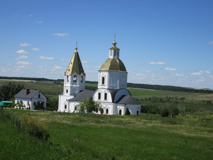Церковь Богоявления Господня-Терновое-Семилукский район-Воронежская область