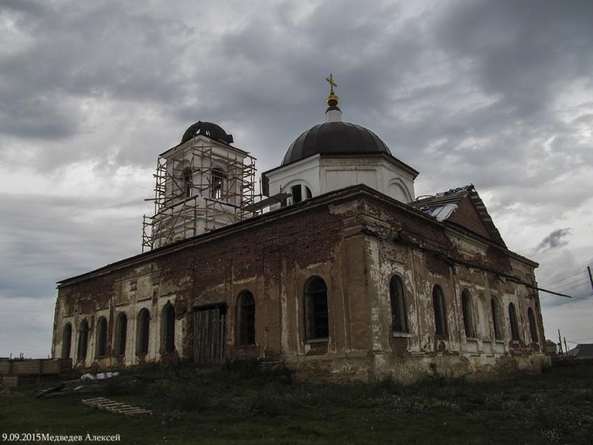 Церковь Илии Пророка, Огневское