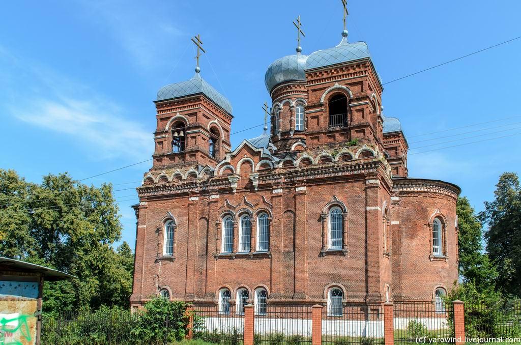 Церковь Покрова Пресвятой Богородицы, Марьинское