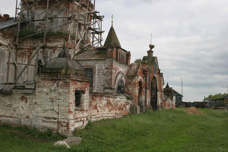 Церковь Сергия Радонежского, Мосейцево