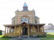 Екабпилс. Екабпилсский Свято-Духов мужской монастырь. Церковь Сошествия Святого Духа