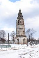 Колокольня церкви Рождества Христова - Коза - Первомайский район - Ярославская область