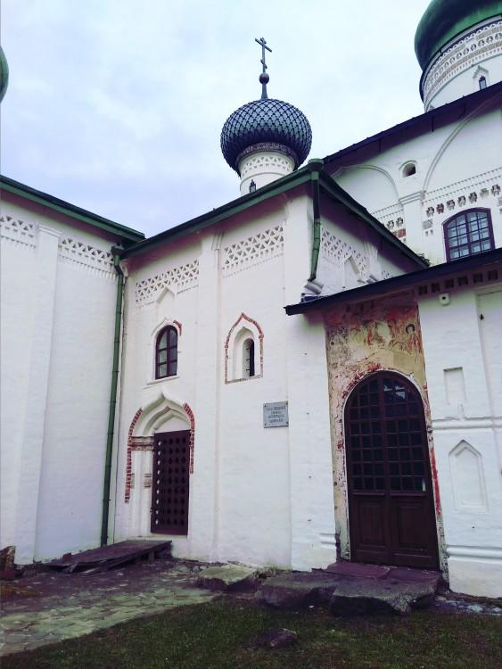 Кирилло-Белозерский монастырь. Церковь Владимира равноапостольного, Кириллов