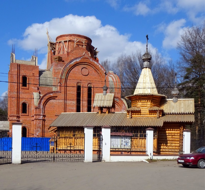 Церковь Кирилла и Мефодия на Левобережной, Химки