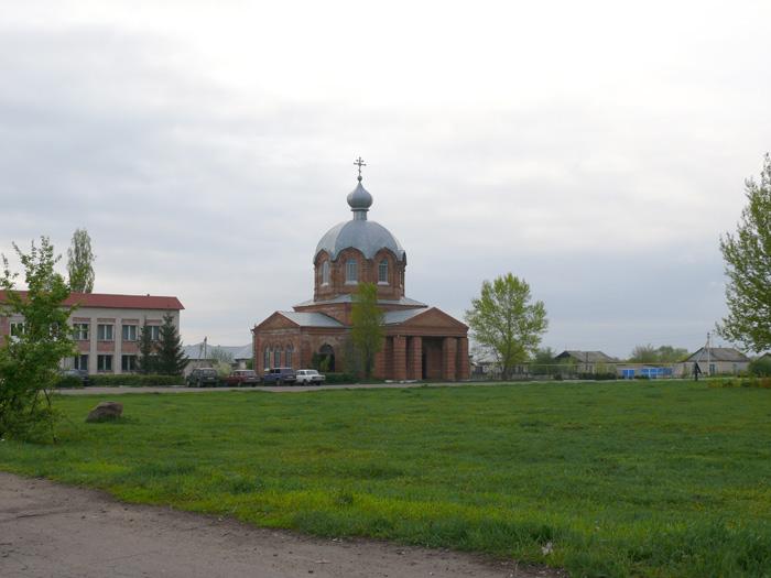 Церковь Покрова Пресвятой Богородицы-Коломыцево-Лискинский район-Воронежская область