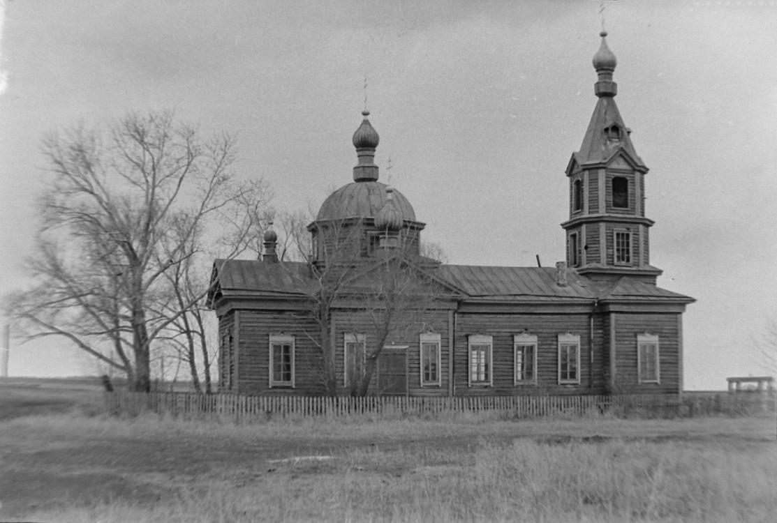 Церковь Воздвижения Креста Господня, Боровлянка