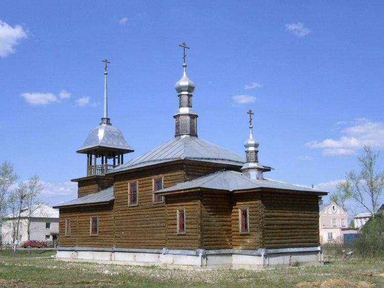 Церковь Илии Пророка, Тёмкино, посёлок