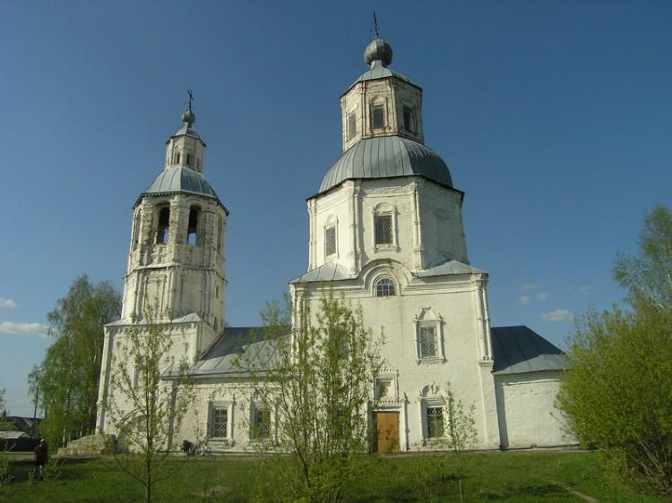 Церковь Покрова Пресвятой Богородицы, Курмыш
