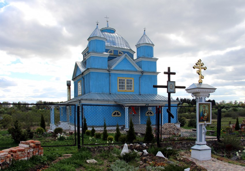 Церковь Спаса Преображения, Смоляны