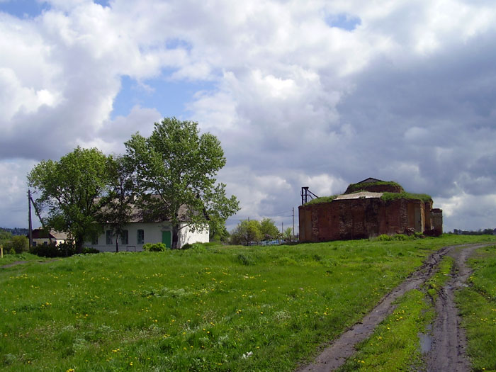 Церковь Вознесения Господня (старая), Нижняя Верейка