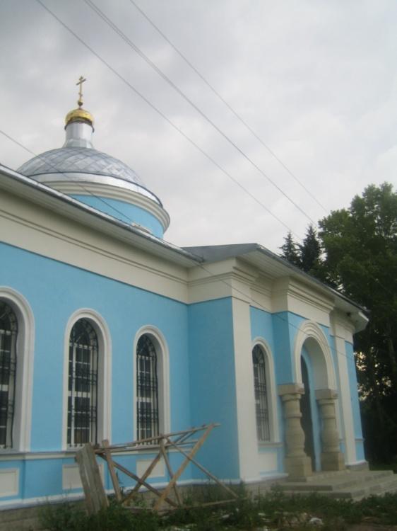 Церковь Богоявления Господня, Грызлово