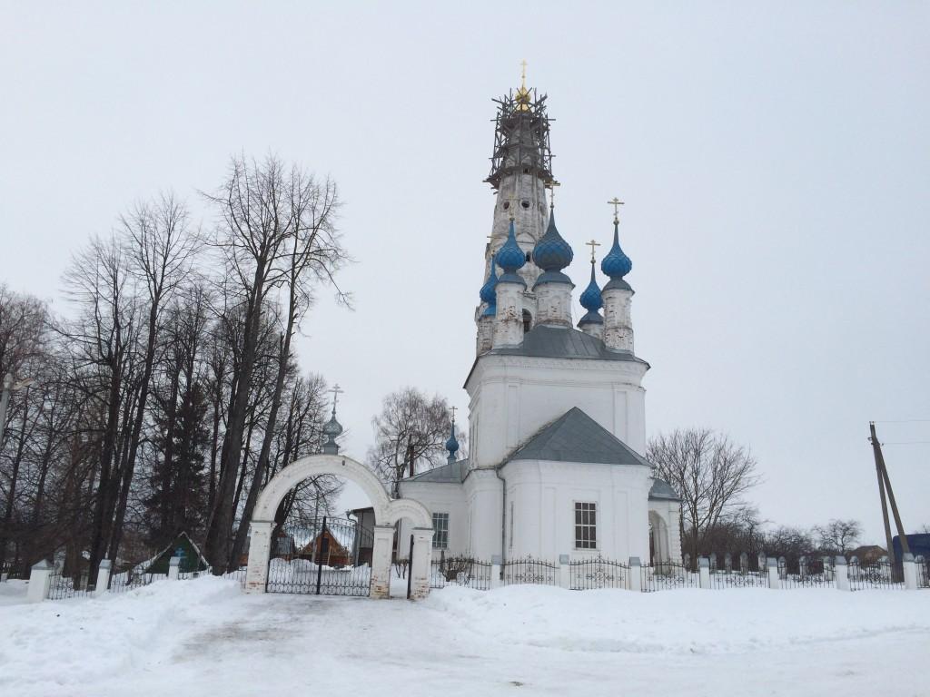 Церковь Михаила Архангела, Михайловское