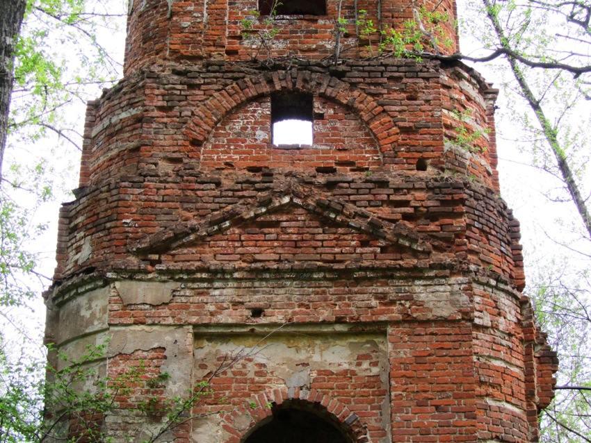 Колокольня церкви Успения Пресвятой Богородицы, Федосово (Феодосово), урочище