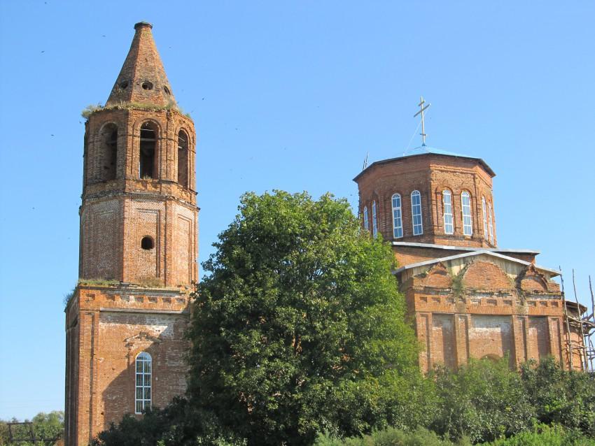 Церковь Успения Пресвятой Богородицы, Вербник