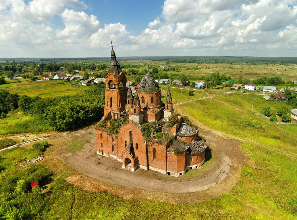 Церковь Введения во храм Пресвятой Богородицы-Пет-Пителинский район-Рязанская область
