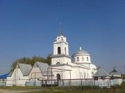 Церковь Воздвижения Креста Господня - Большое Окулово - г. Навашино - Нижегородская область