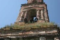Колокольня церкви Рождества Пресвятой Богородицы - Чертень - Мосальский район - Калужская область