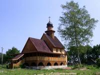 Церковь Спаса Преображения - Молодой Туд - Оленинский район - Тверская область