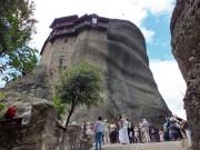 Николая Анапавсаса, монастырь - Метеоры (Μετέωρα) - Фессалия (Θεσσαλία) - Греция