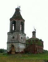Церковь Сергия Радонежского - Студенцы - Шуйский район - Ивановская область