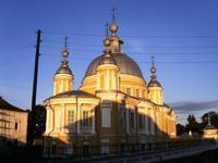 Собор Воскресения Христова (Николая Чудотворца) - Устье - Усть-Кубинский район - Вологодская область