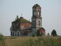 Церковь Воскресения Христова - Дроздово, урочище - Шуйский район - Ивановская область