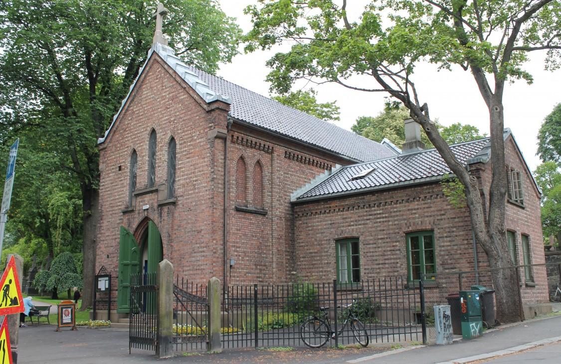 Церковь Христа Спасителя, Осло