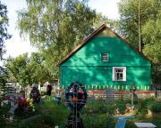Церковь Тихвинской иконы Божией Матери - Дерглец - Волотовский район - Новгородская область