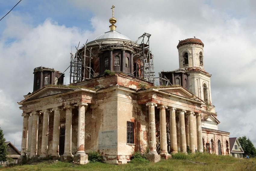 Церковь Введения во храм Пресвятой Богородицы, Козлово