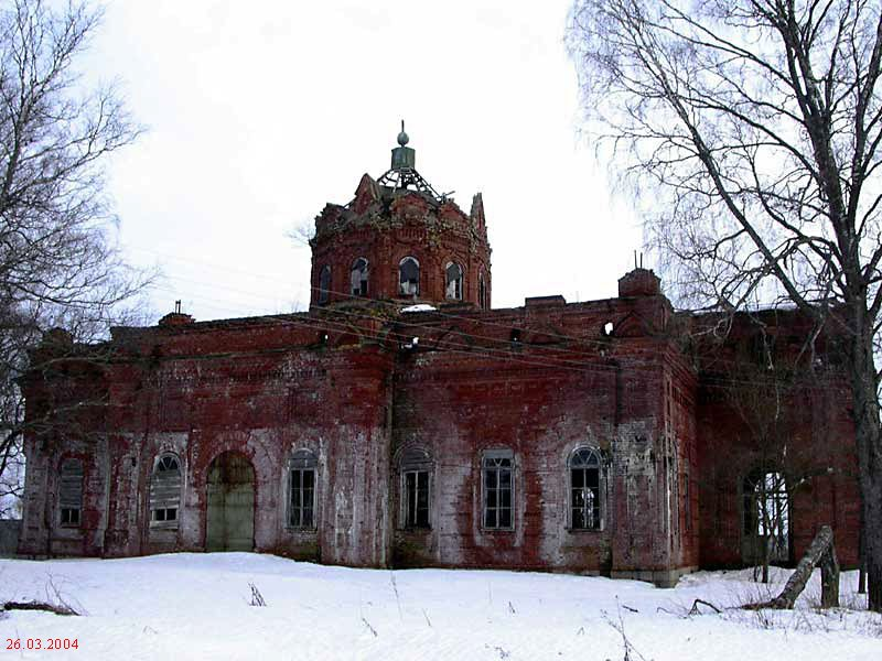 Церковь Благовещения Пресвятой Богородицы, Раевское