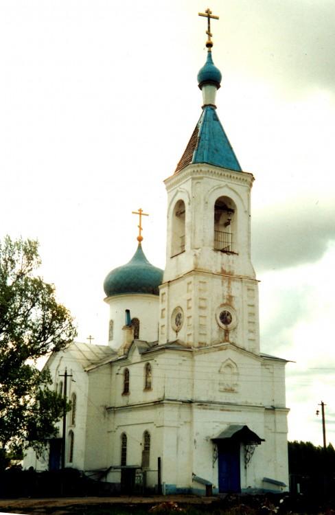 Церковь Николая Чудотворца, Устьяново