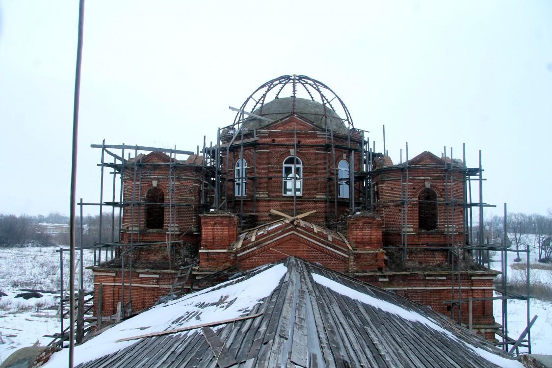 Церковь Воздвижения Креста Господня, Грязновка