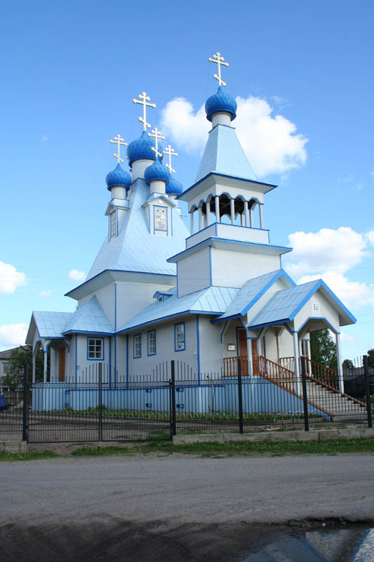 Церковь Иоанна Кронштадтского, Березник