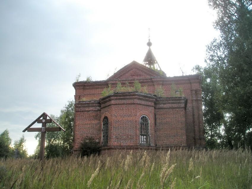 Церковь Симеона Столпника, Развилье