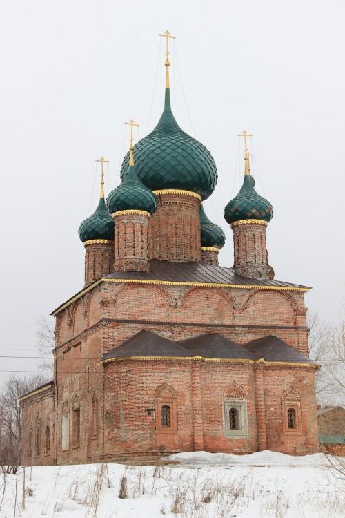 Церковь Владимирской иконы Божией Матери в г. Ярославль