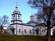 Церковь Николая Чудотворца - Курово - Погарский район - Брянская область