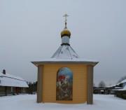 Тервеничи. Покрово-Тервенический женский монастырь. Часовня Георгия Победоносца в подсобном хозяйстве