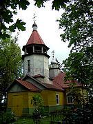 Церковь Троицы Живоначальной - Грешина Гора - Пыталовский район - Псковская область