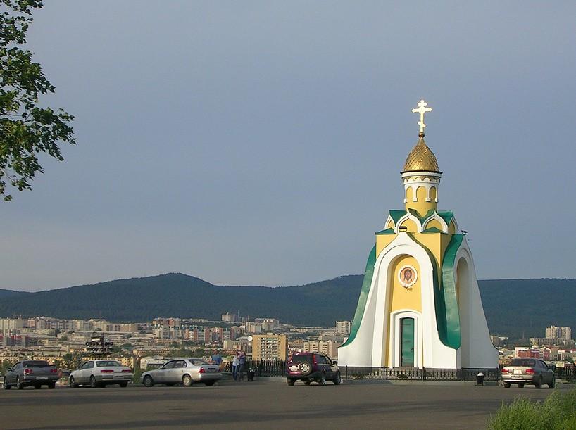 Часовня Александра Невского, Чита