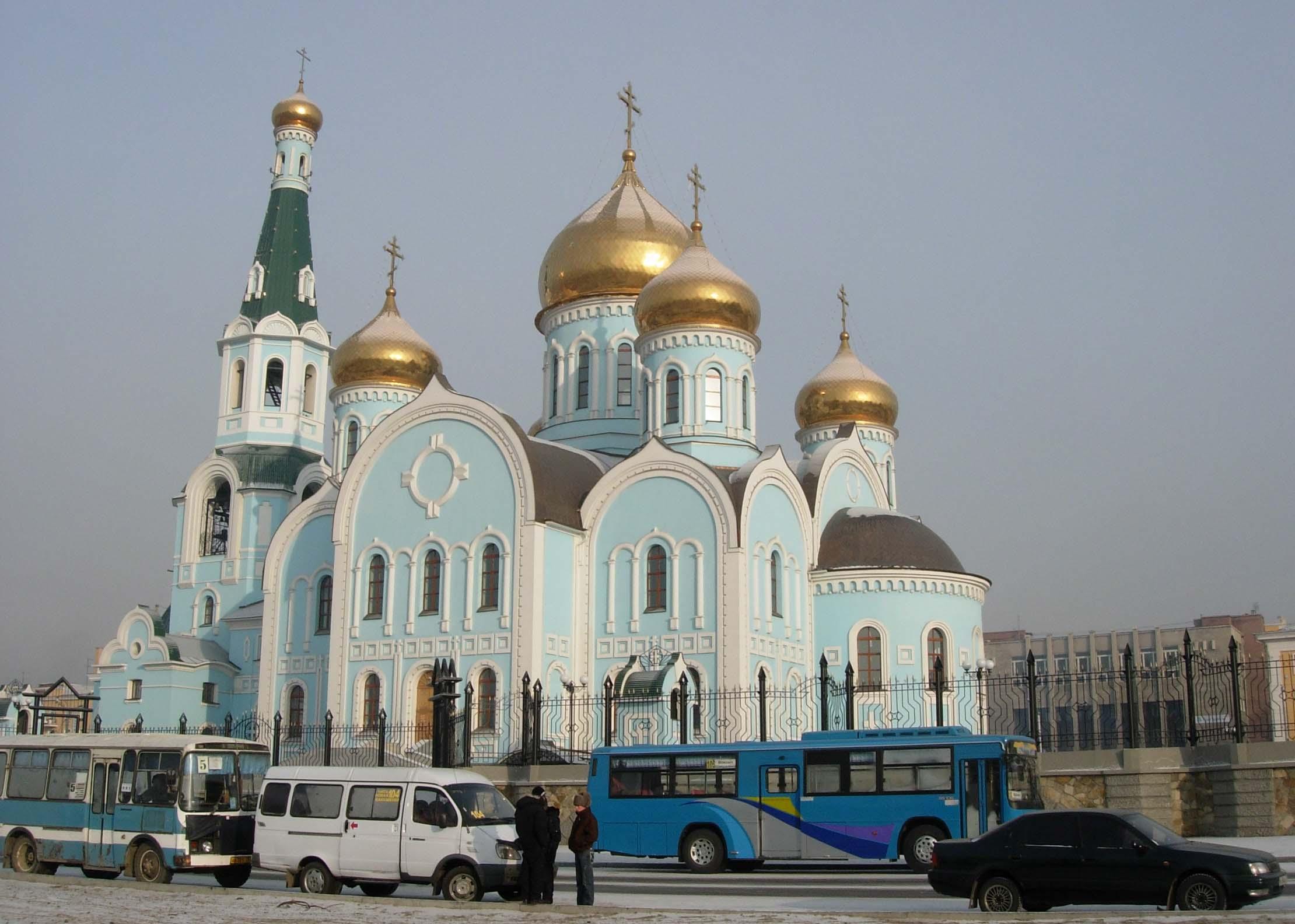 Храм Рождества Иоанна Крестителя на Чите I - Главная
