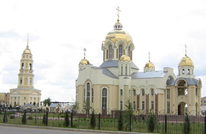 Россошь, Церковь Илии Пророка, фотография.