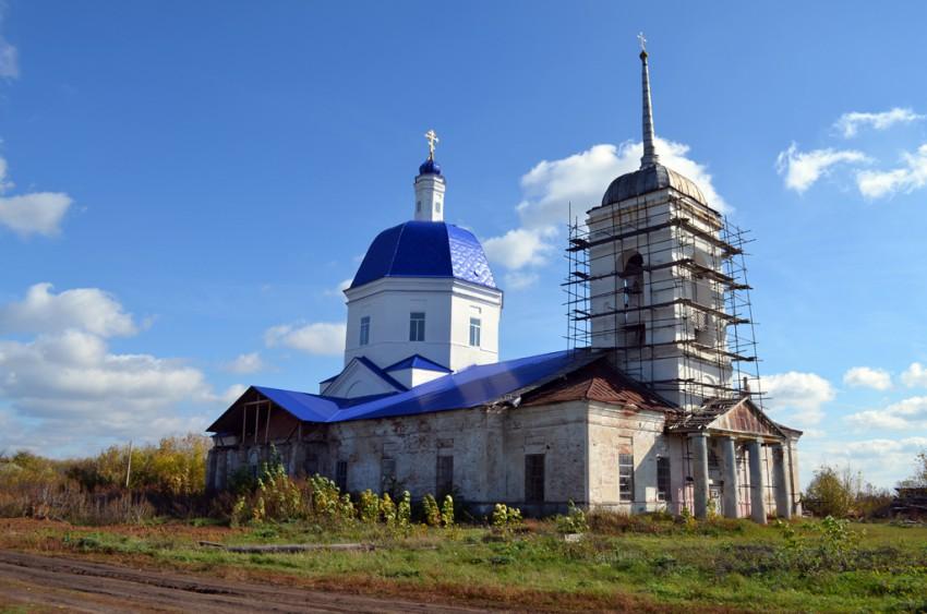 Церковь Вознесения Господня, Коршево