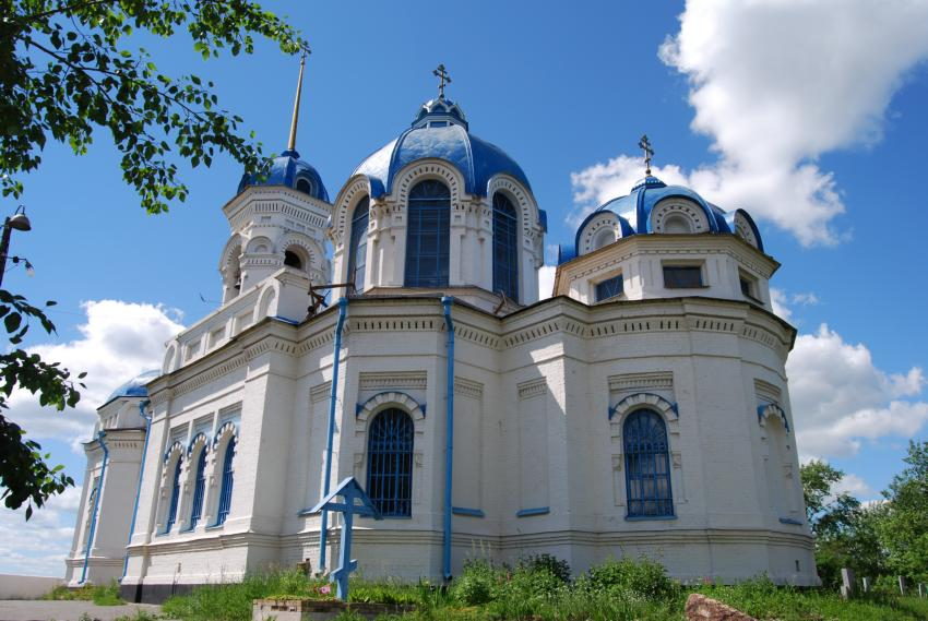 Храм Иоанна Предтечи в г. Реж