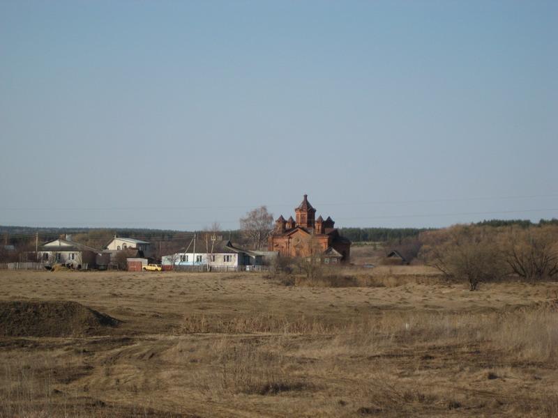 Церковь Троицы Живоначальной-Озёрки-Шатковский район-Нижегородская область