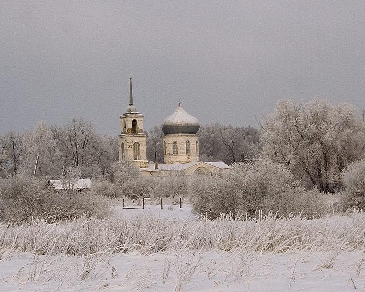 Церковь Воскресения Христова, Михайлов Погост