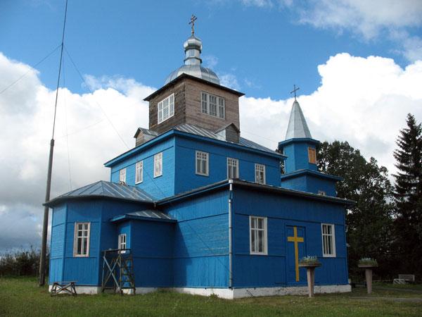 Церковь Рождества Пресвятой Богородицы, Поречье