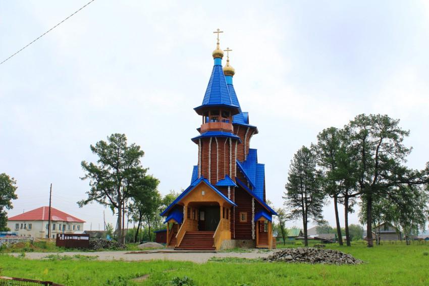 Церковь Тихвинской иконы Божией Матери, Атиг