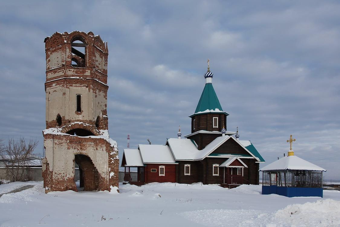 Церковь Покрова Пресвятой Богородицы (старая), Песчано-Коледино