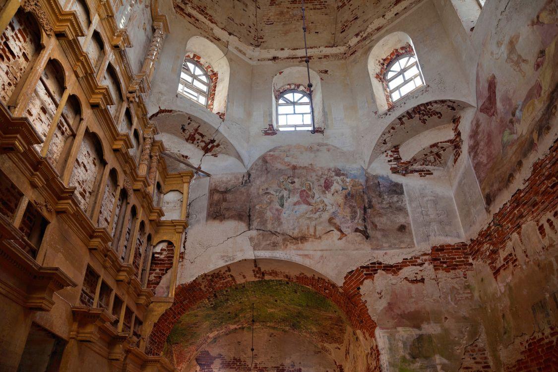 Церковь Спаса Преображения, Порздни